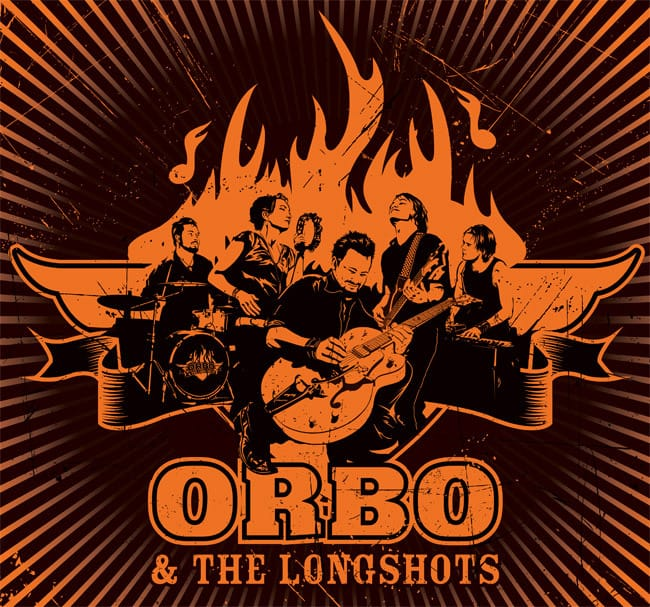 LP-kupp: ORBO & The Longshots - Live10.