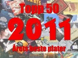 Topp 50 – Musikkåret 2011 oppsummert.