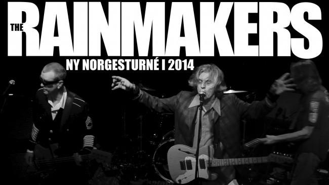 The Rainmakers endelig tilbake på norske veier!