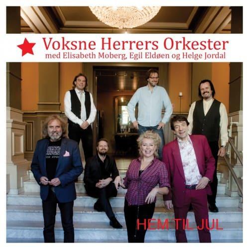 Voksne Herrers Orkester med Helge Jordal, Egil Eldøen og Elisabeth Moberg – Hem til jul