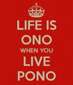 Pono life