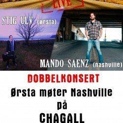 DoD Live: Dobbelkonsert med Stig Ulv & Mando Saenz – 16. oktober