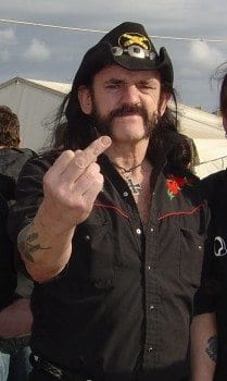 Lemmy-Finger