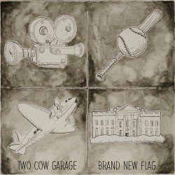 Two Cow Garage - Brand New Flag